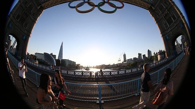 La impagable «burbuja olímpica» de Londres 2012